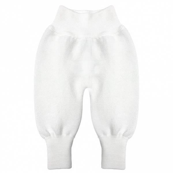 Newborn ullbukse hvit